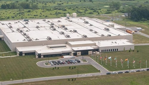 Urschel's massive new Chesterton operations opened in the second half of 2015.