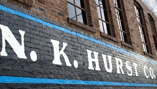 NK Hurst (Indianapolis headquarters pictured) recently celebrated 75 years in business.