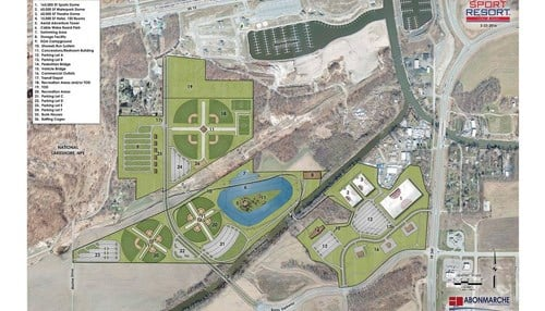 The property where the planned Sport Resort would be located was purchased in 2015 for $6 million.