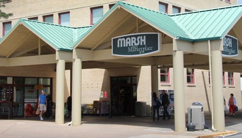 Marsh Marketplace is the anchor tenant of the property.