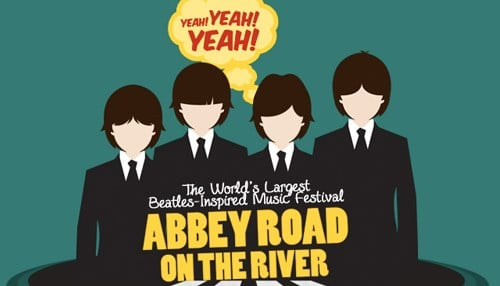 The 2017Abbey Road on the Riverfestival is set for May 25-29.
