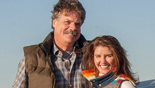 Mike and Sue McCloskey co-founded Select Milk Producers in the mid-1990s.
