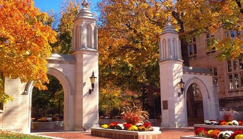 Indiana University ranks 27th, the highest among Indiana schools.