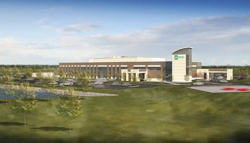 The health provider says the facility will result in more than 110 new jobs once completed.