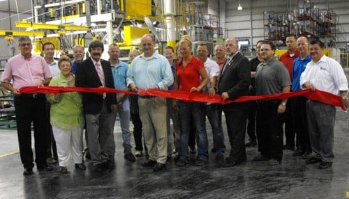 The company expanded its current Huntington facility in 2013 (Image of 2013 ribbon cutting courtesy of the Huntington Economic Development Corp).