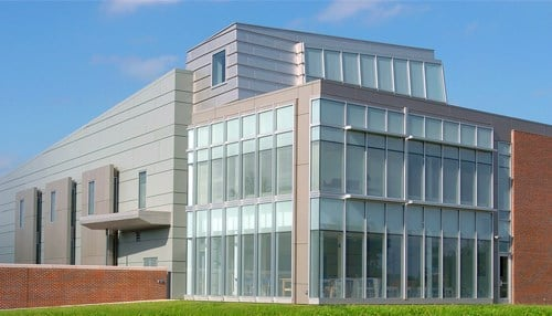The Burton D. Morgan Center for Entrepreneurship opened in 2004 as the first building to be completed in Purdue's Discovery Park.