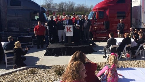 Knight transportation says the larger space will allow for future growth of its divisions and business lines.