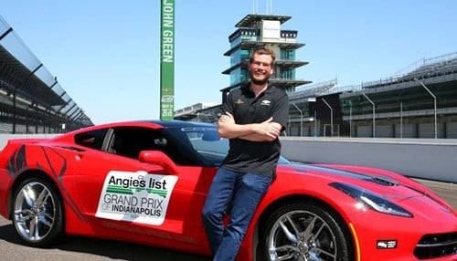 The Angie's List Grand Prix of Indianapolis is set for Saturday, May 14.