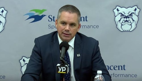 Holtmann was named head coach in 2014.
