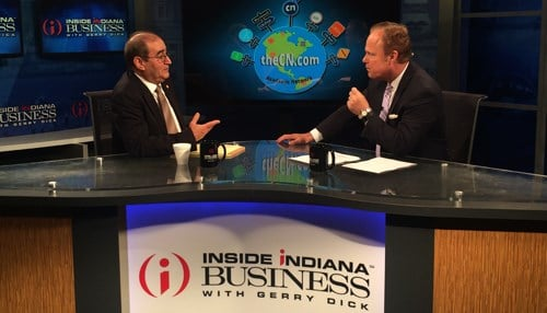 Jafari was a guest in May on Inside INdiana Business Television.