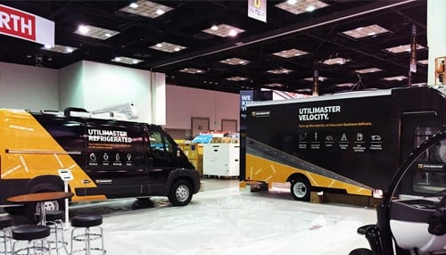 The Bristol facility manufactures the company's Utilimaster brand vans.
