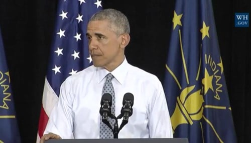 The president says the rebound has been fueled in part by investment in job training