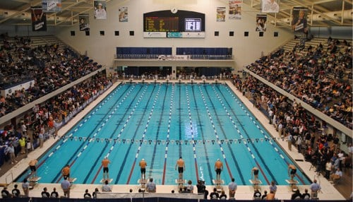 The Natatorium is currently hosting the USA Swimming National Championships and World Championship Trials.