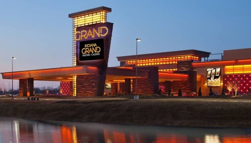 Indiana Grand Casino (pictured) and Hoosier Park are owned by Centaur Gaming in Indianapolis.
