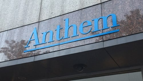 Anthem says operating revenue increased by $1 billion quarter-over-quarter