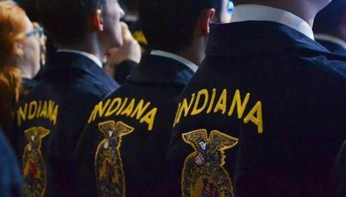 (photo courtesy Indiana FFA Organization)