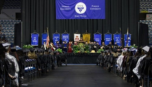 IPFW held its Spring Commencement in May.
