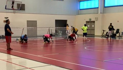 (Goalball image courtesy of Turnstone)