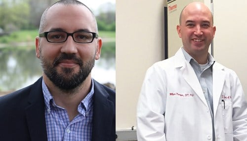 (Images of Keith Avin [pictured left] and William Thompson [pictured right] courtesy of IUPUI.)