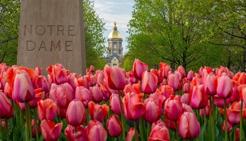 (Image Courtesy of the University of Notre Dame.)