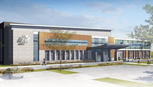 The MedTech Park would include a medical office building to house Central Indiana Orthopedics' Fishers operations.