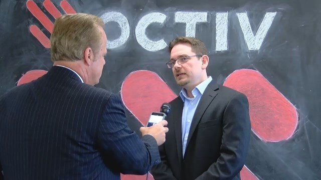 Octiv CEO Dustin Sapp (file photo)