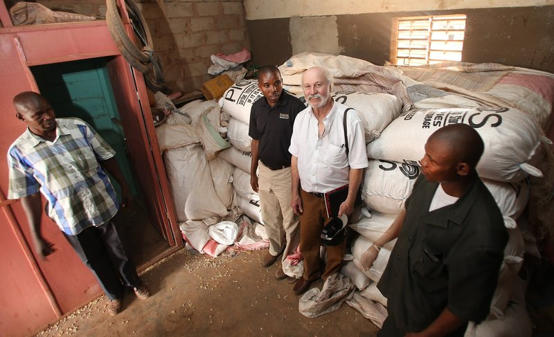 Dr. Larry Murdock says PICS3 aims to develop a sustainable supply chain to make the bags, which are produced in Africa, more readily available.