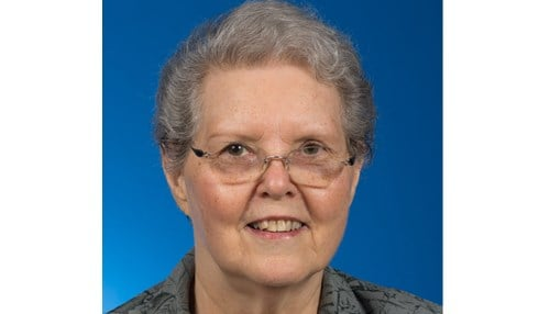 Eldred is a 1963 graduate who returned to her alma mater to work as a student affairs professional.