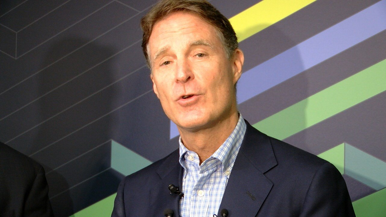 Former Indiana governor and senator Evan Bayh.