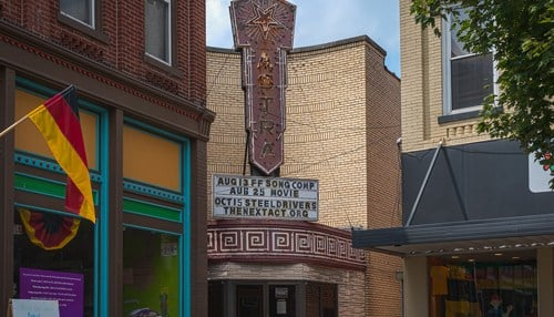 The theater opened in 1936.
