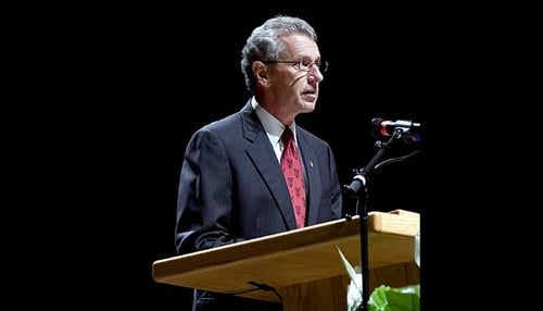 King updated campus efforts last week during the Fall Opening Convocation.
