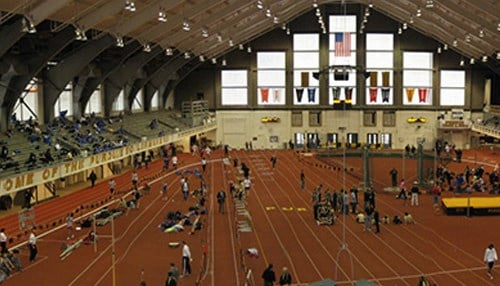 (Image of Lambert Fieldhouse courtesy of Purdue University) Purdue ranked second in the Best Athletic Facilities category.