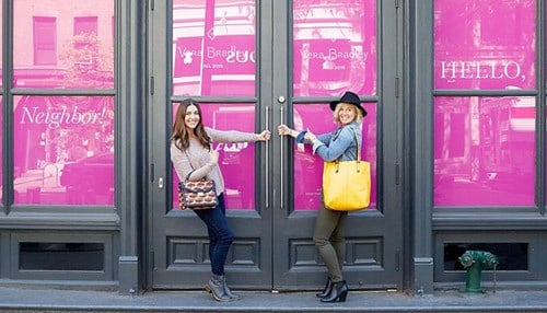 Vera Bradley recently opened a store in Manhatten's SoHo district.
