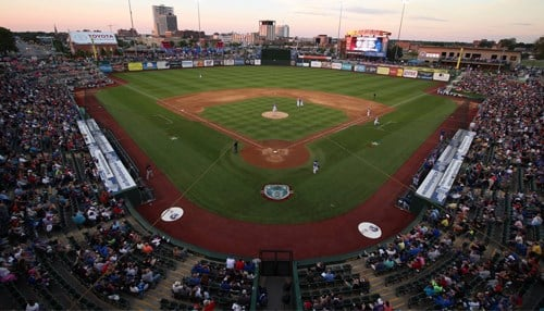 The South Bend Cubs welcomed a team record 354,070 fans.