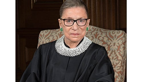 Ruth Bader Ginsburg has served the U.S. Supreme Court since 1999.