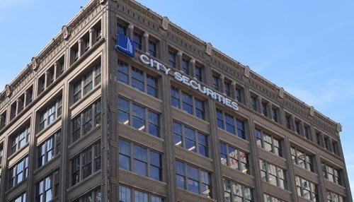 City Securities' headquarters is in the heart of downtown Indianapolis.