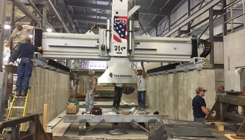 The company says the new Apex 5 cutting equipment has been fully-operational since the beginning of the month.