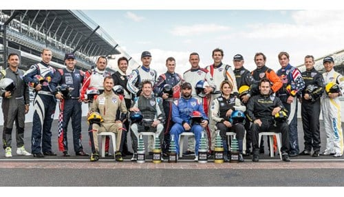 (Image of Red Bull Air Race pilots courtesy of the Indianapolis Motor Speedway)