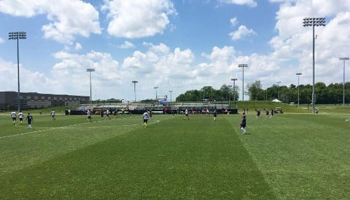 The city says the third annual Grand Park Cup tournament will result in 2,100 hotel room nights in the region.