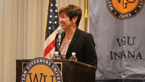 WGU Indiana Chancellor Allison Barber says the scholarships are for $2,000 each.