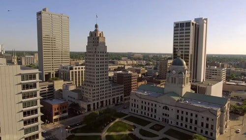 Fort Wayne ranks first for low cost of living. (photo courtesy Greater Fort Wayne Inc.)