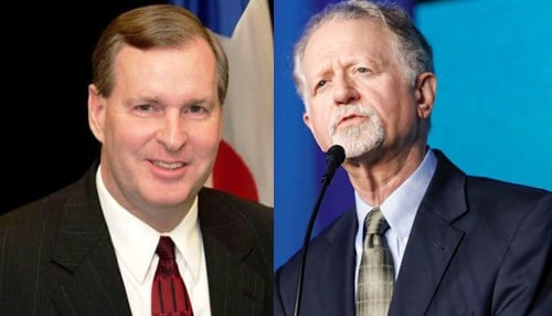 Greg Ballard (pictured left) and Graham Richard (pictured right) will head up Indiana AEE efforts.