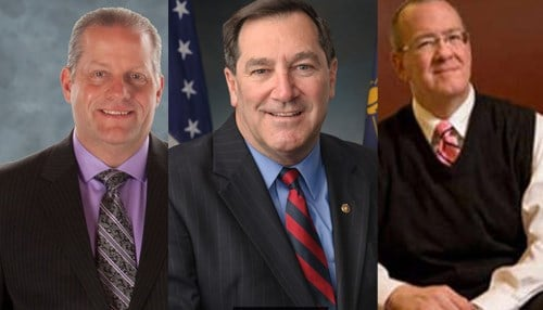 From Left to Right: Richard Gill, Joe Donnelly, Mike Hicks
