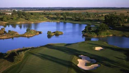 (Image courtesy of Victoria National Golf Club) The community is located near Victoria National Golf Club.
