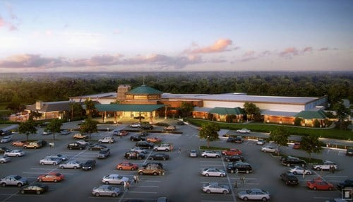 (Casino rendering provided by the Pokagon Band of Potawatomi Indians)