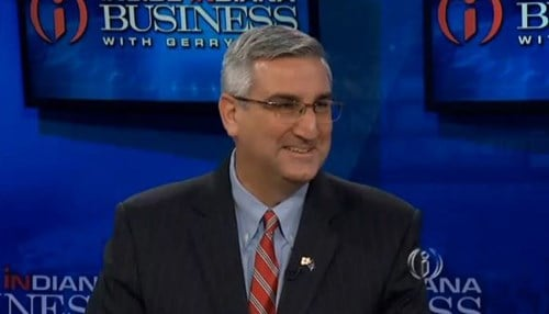 Eric Holcomb is in his first year as Indiana's governor.