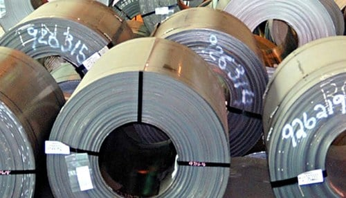 Ratner Steel make both hot roll and cold roll products at its Port of Indiana-Burns Harbor facility.