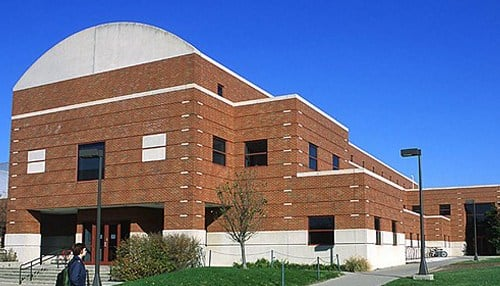 (Image of the Ball State University Human Performance Lab Building courtesy of Ball State)