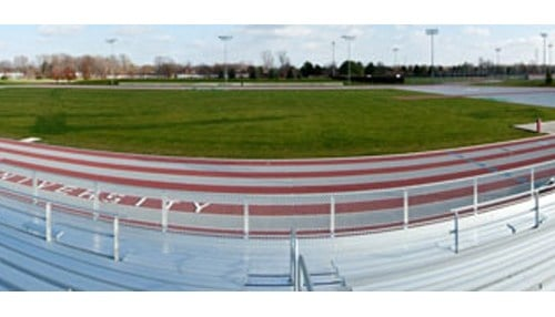 (Image of the Outdoor Track and Field Stadium courtesy of Indiana Wesleyan University)