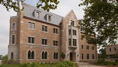 The John J. Reilly Center for Science Technology and Values is located in Geddes Hall on the campus of the University of Notre Dame.